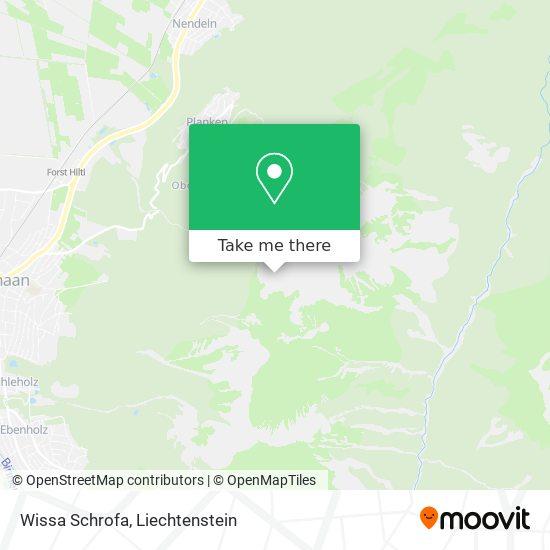 Wissa Schrofa map