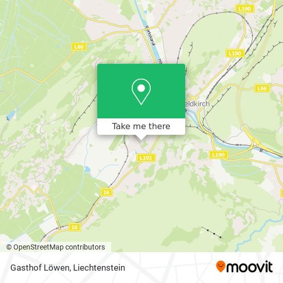 Gasthof Löwen map