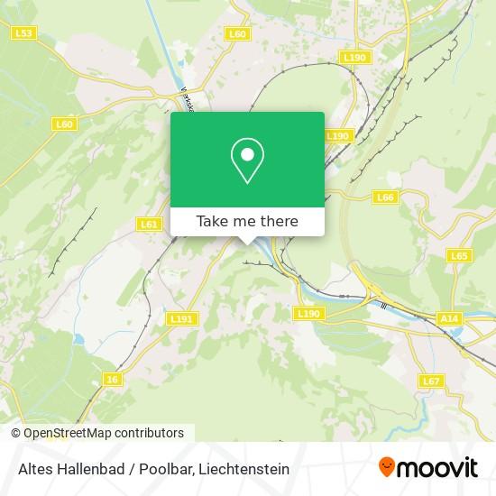 Altes Hallenbad / Poolbar map