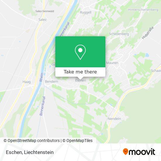 Eschen map