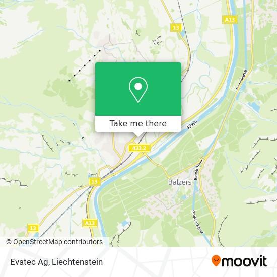 Evatec Ag map