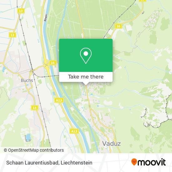 Laurentiusbad map