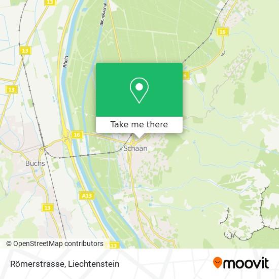 Römerstrasse map