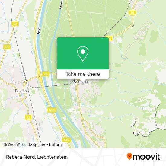 Rebera-Nord map