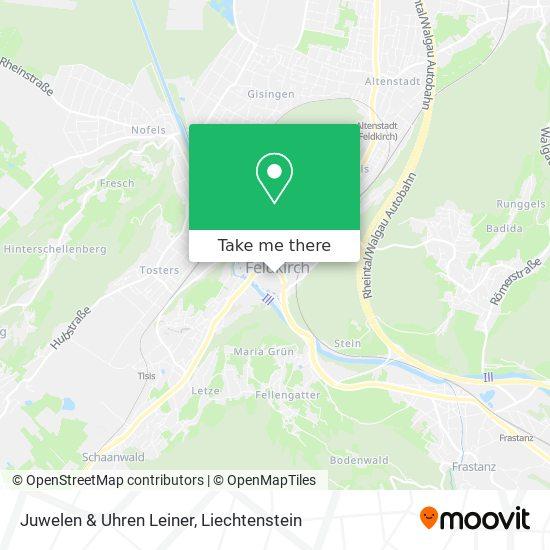 Juwelen & Uhren Leiner map