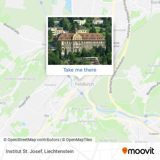 Institut St. Josef map