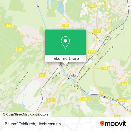 Bauhof Feldkirch map