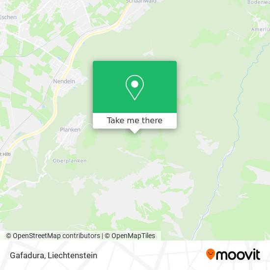 Gafadura map