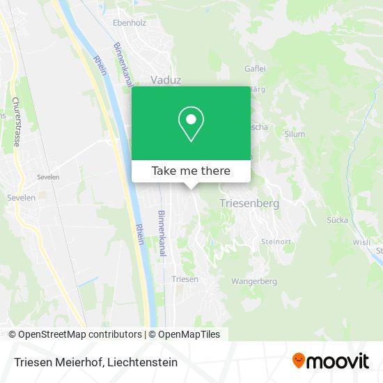 Triesen Meierhof map
