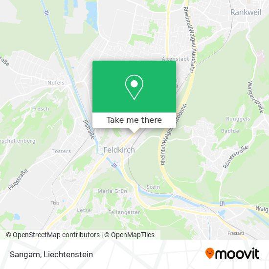 Sangam map