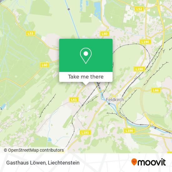 Gasthaus Löwen map