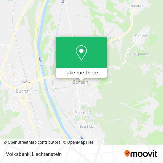 Volksbank map