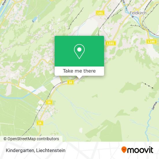 Kindergarten map