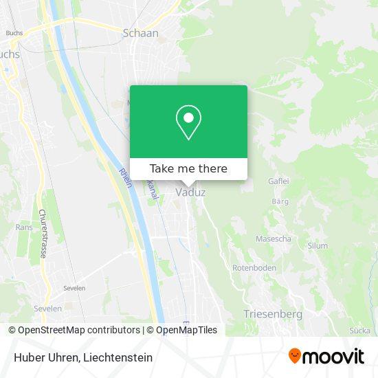 Huber Uhren map