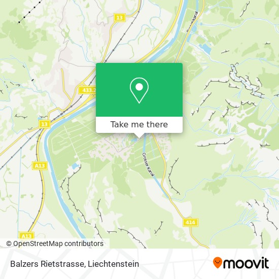 Rietstrasse map