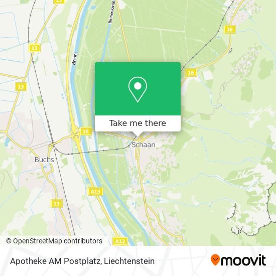 Apotheke AM Postplatz map