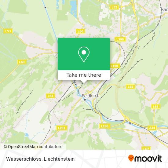 Wasserschloss map