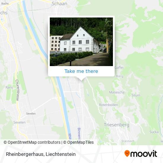 Rheinbergerhaus map