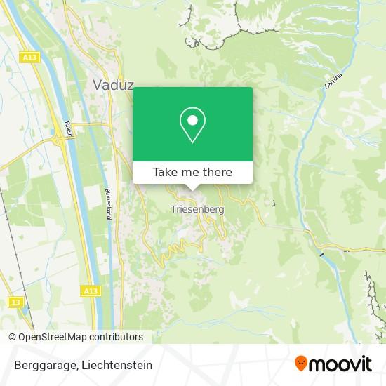 Berggarage map