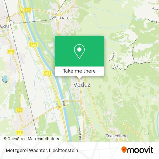 Metzgerei Wachter map