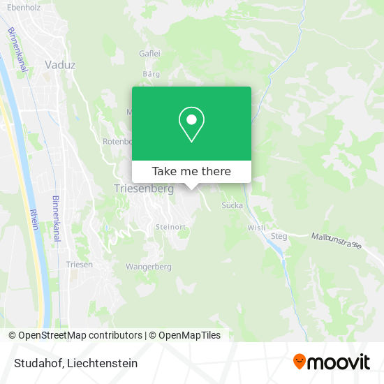 Studahof map
