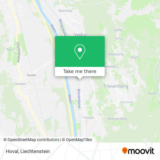 Hoval map