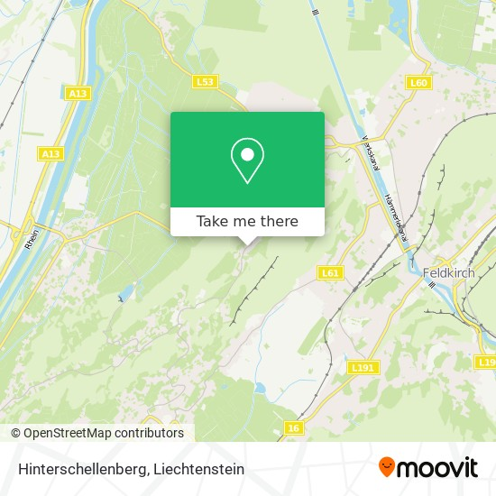 Hinterschellenberg map