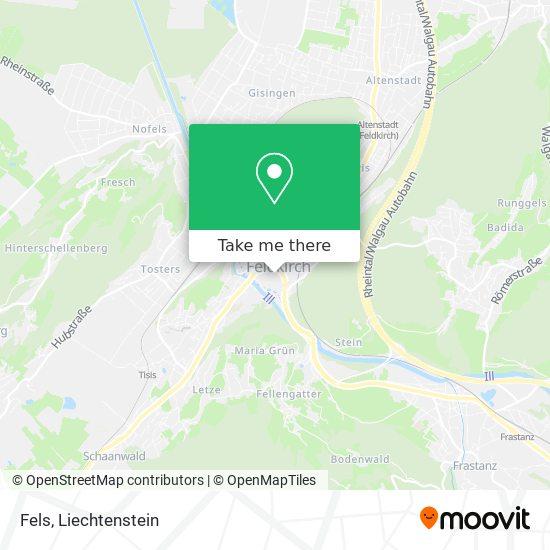 Fels map
