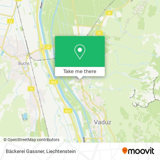 Bäckerei Gassner map