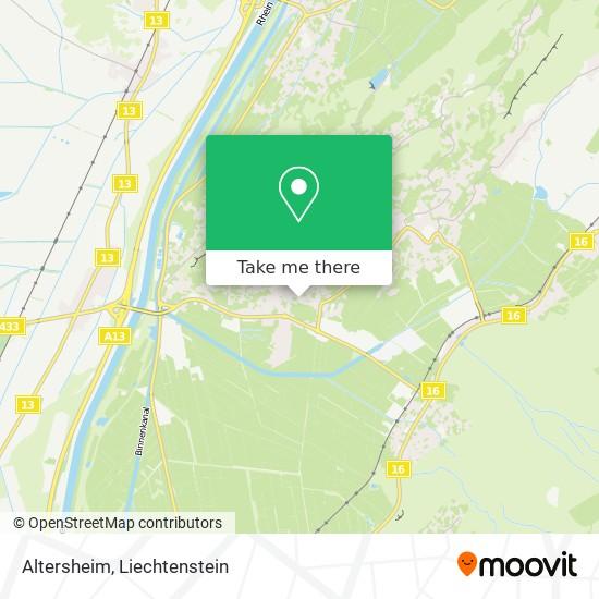 Altersheim map