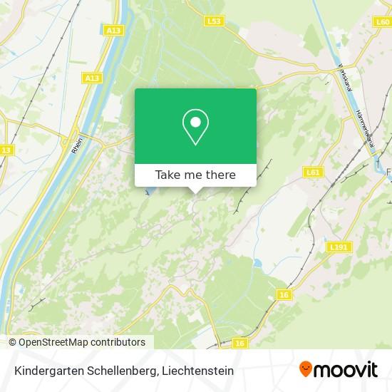 Kindergarten Schellenberg map