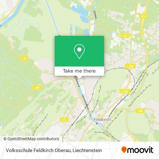Volksschule Feldkirch Oberau map