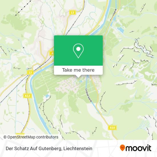 Der Schatz Auf Gutenberg map