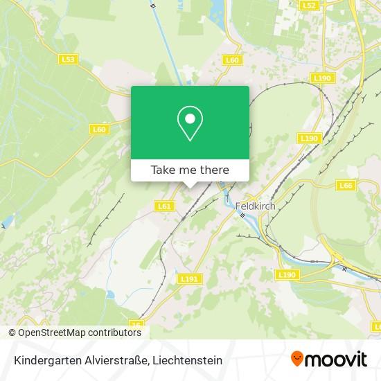 Kindergarten Alvierstraße map