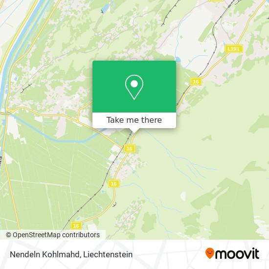 Nendeln Kohlmahd map