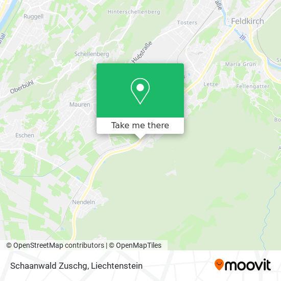 Schaanwald Zuschg map