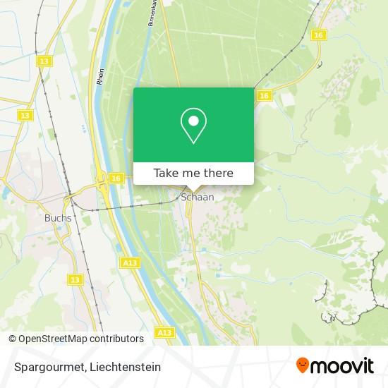 Spargourmet map