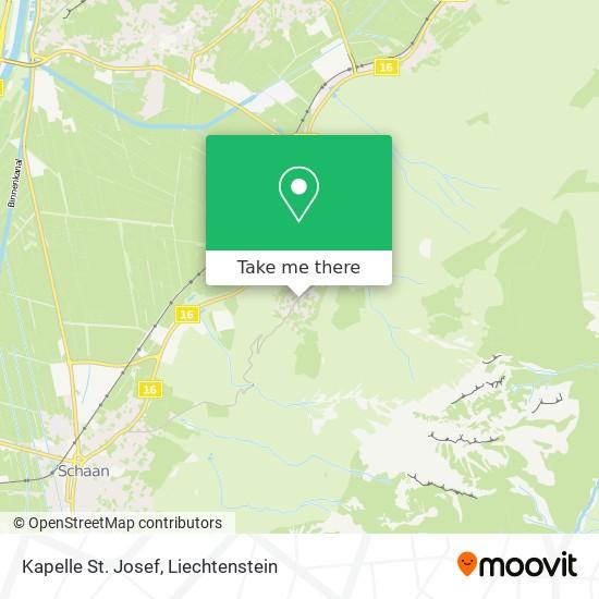 Kapelle St. Josef map