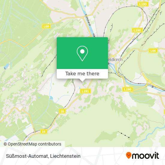Süßmost-Automat map
