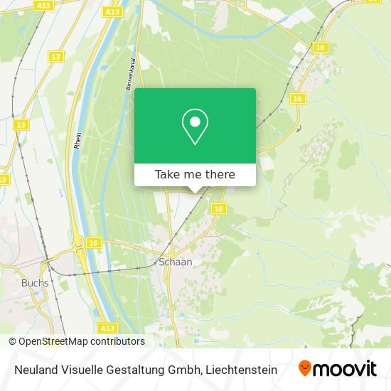 Neuland Visuelle Gestaltung Gmbh map