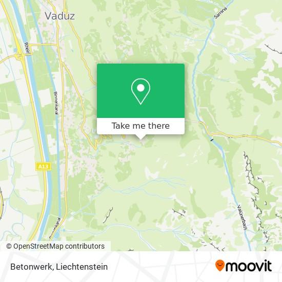 Betonwerk map