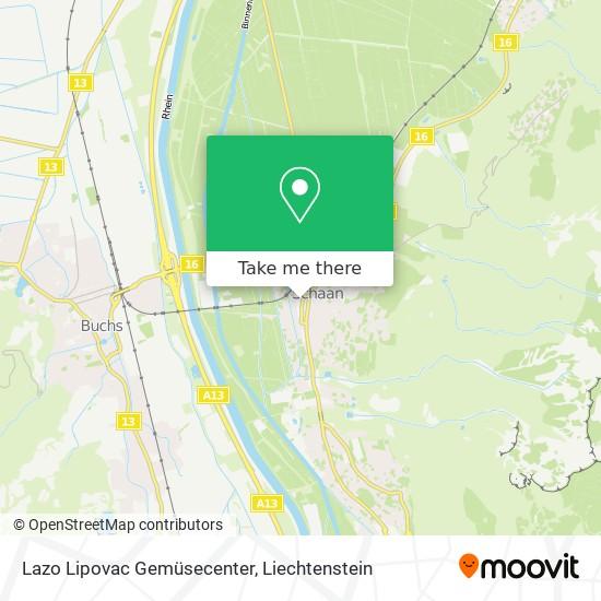Lazo Lipovac Gemüsecenter map