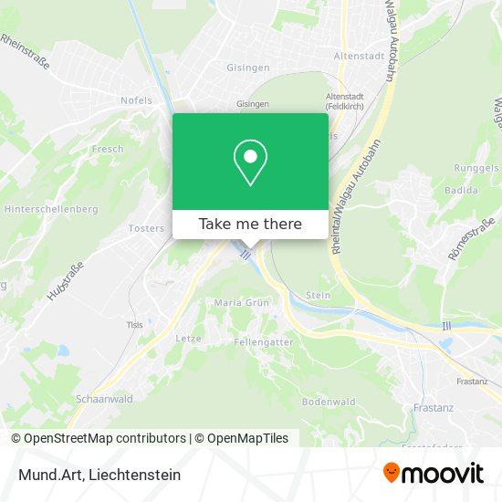Mund.Art map