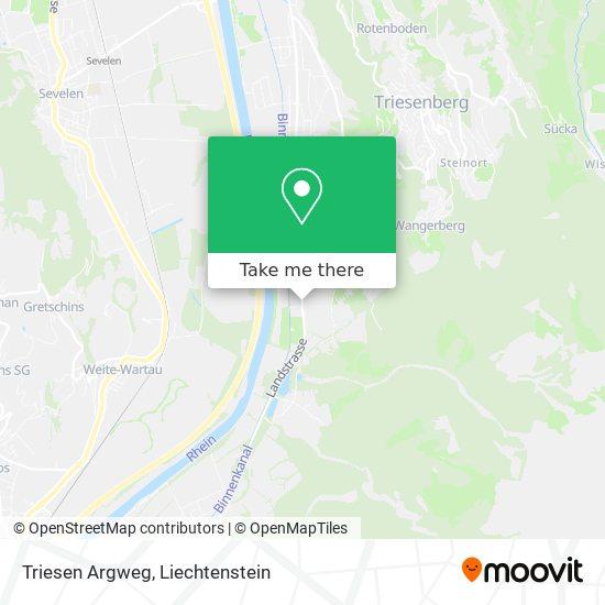 Argweg map