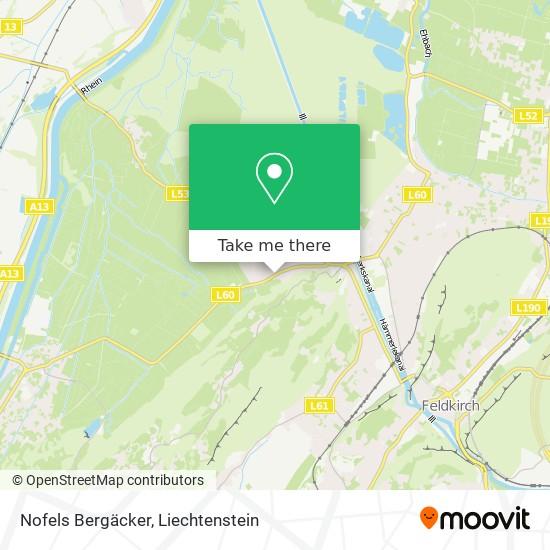 Nofels Bergäcker map