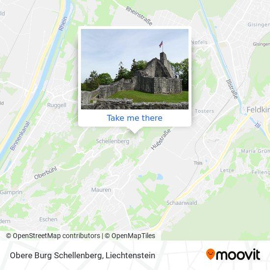 Obere Burg Schellenberg map