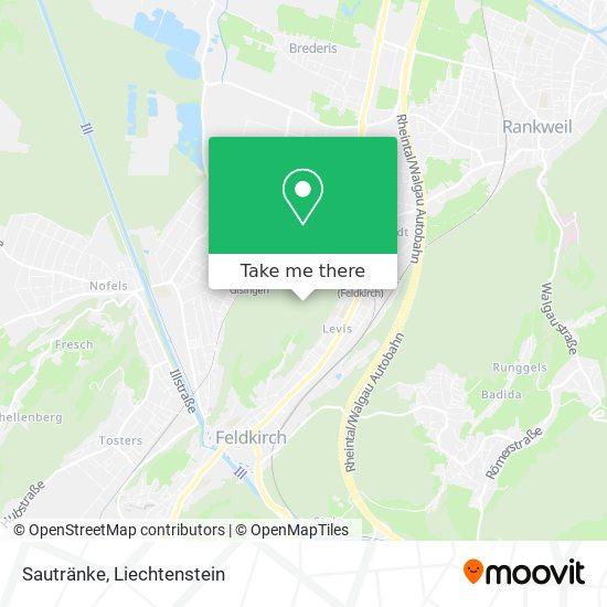 Sautränke map