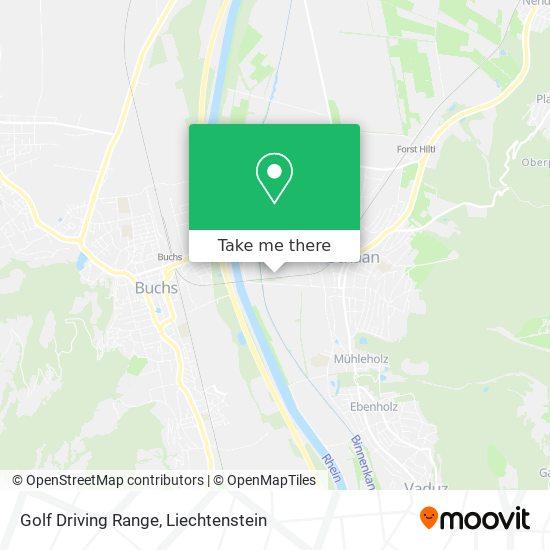 Golf Driving Range map
