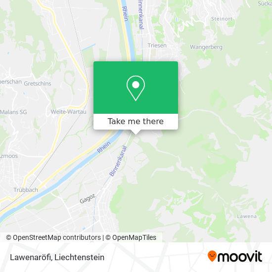 Lawenaröfi map
