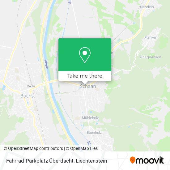Fahrrad-Parkplatz Überdacht map